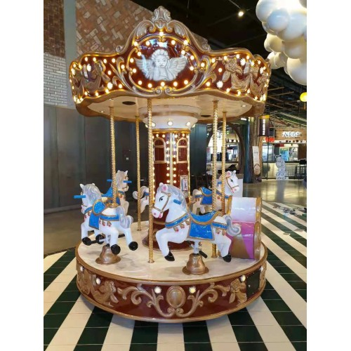 NEW 6P vintage carousel
