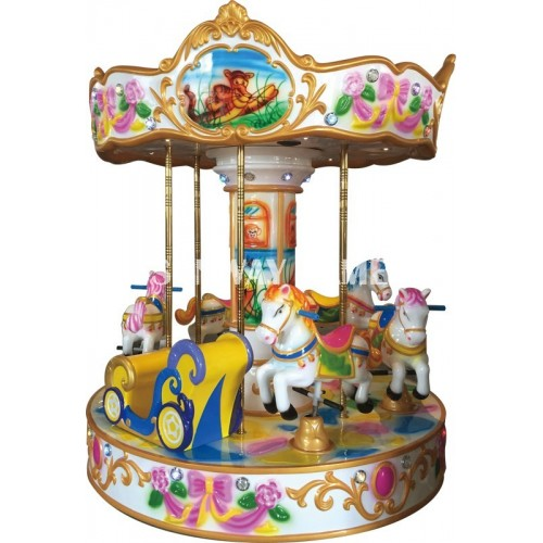 6 seats pony carousel
